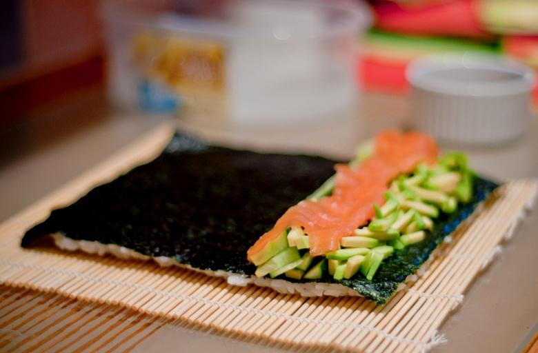 Как сделать суши филадельфия в домашних условиях